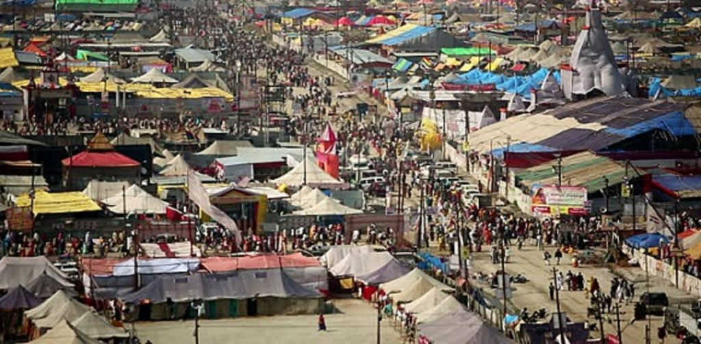 Ardh Kumbh Mela 2019 Accommodation tents