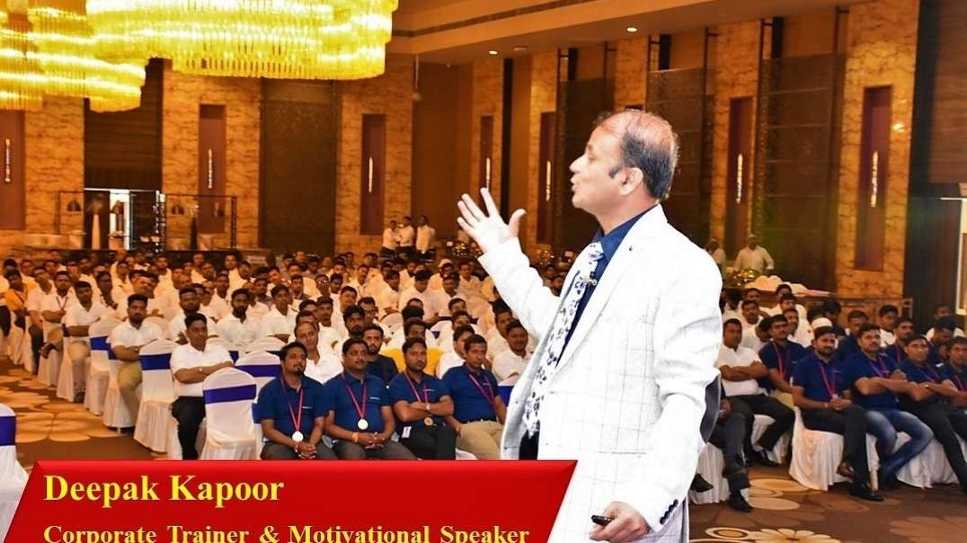 Deepak Kapoor Corporate Trainer and Motivational Speaker in Lucknow.mp4